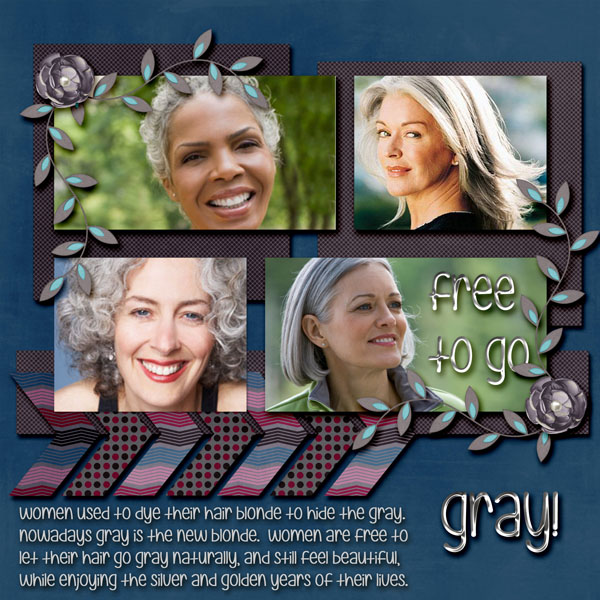 Free To Go Gray!