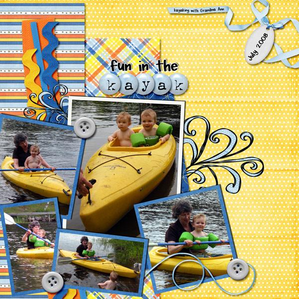 fun in the Kayak!