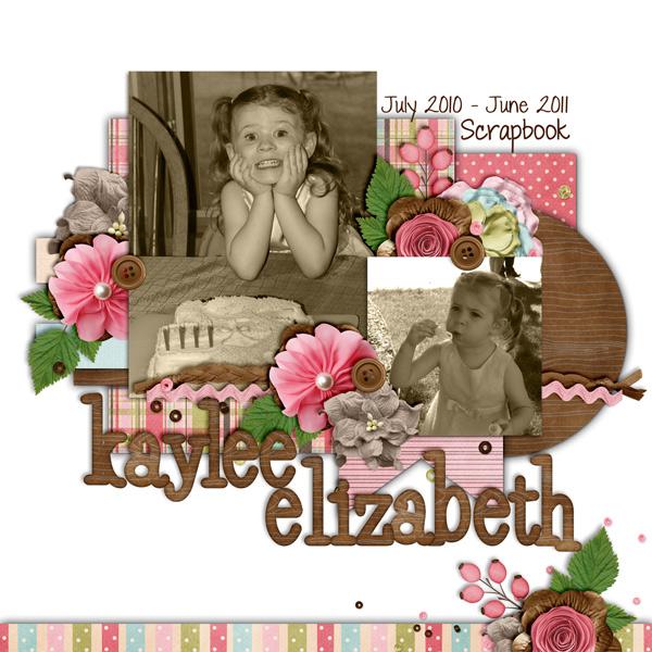 Kaylee Scrapbook Cover
