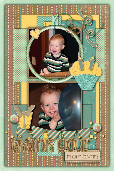 Evan's 2nd Birthday