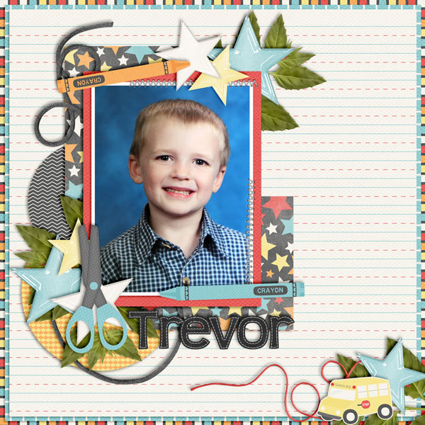 Trevor 1st Grade