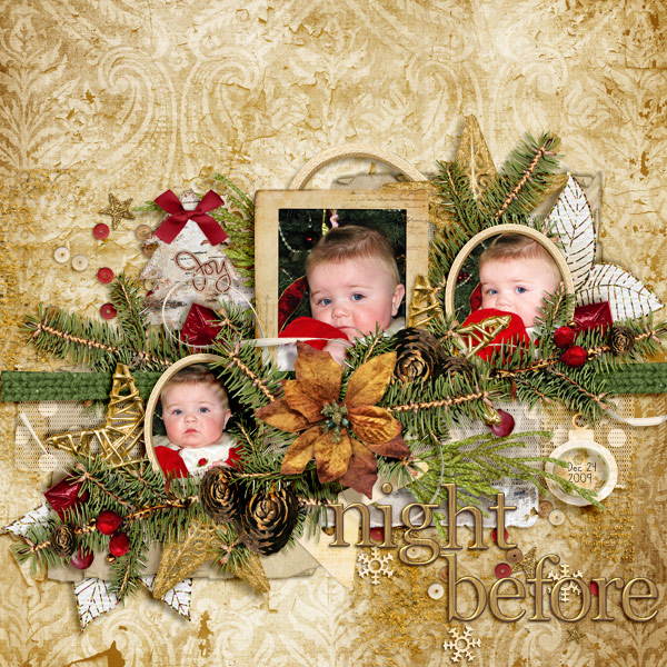 Glad Tidings by Designs by Kat and Faith True Originals and Tracie Stroud