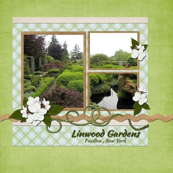 Linwood Gardens, Pavilion NY