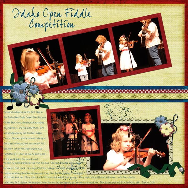 Fiddle Competition