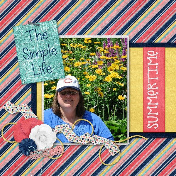 layout by angeldevildog using Barefoot Summer
