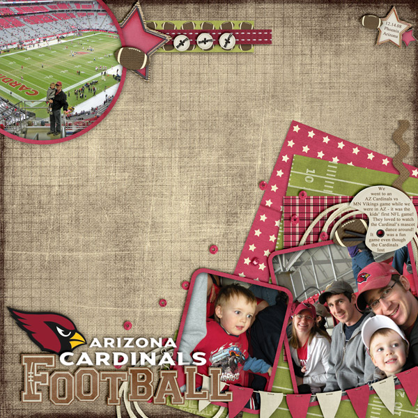 AZ Cardinals Football