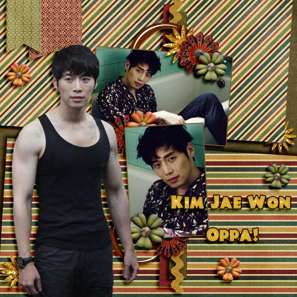 Kim Jae Won Oppa!