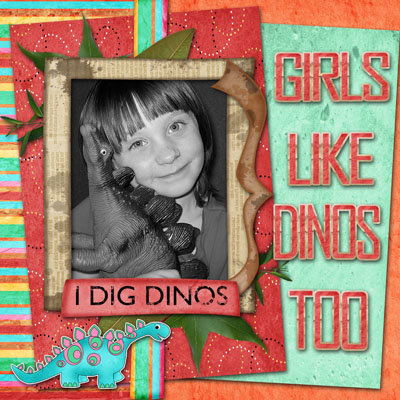 Girls Like Dinos Too