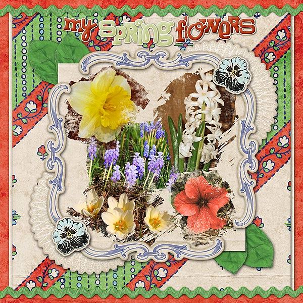My Spring Flowers 2011