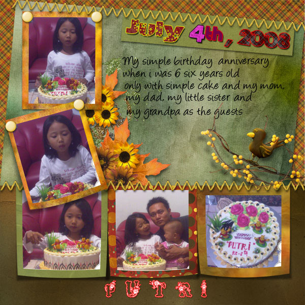 My Daughter's Birthday