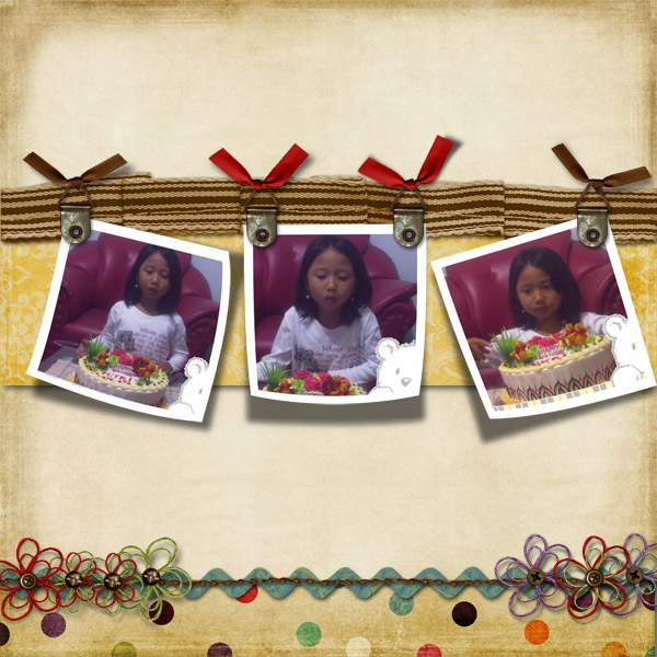Putri's 6th birthday