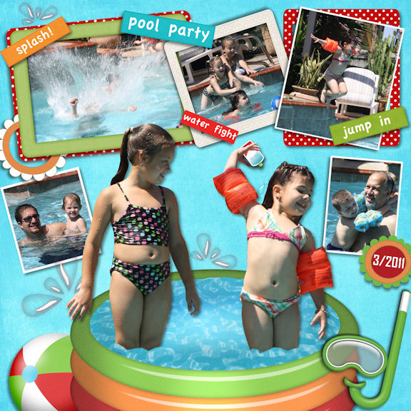 Aubrie's Pool Party