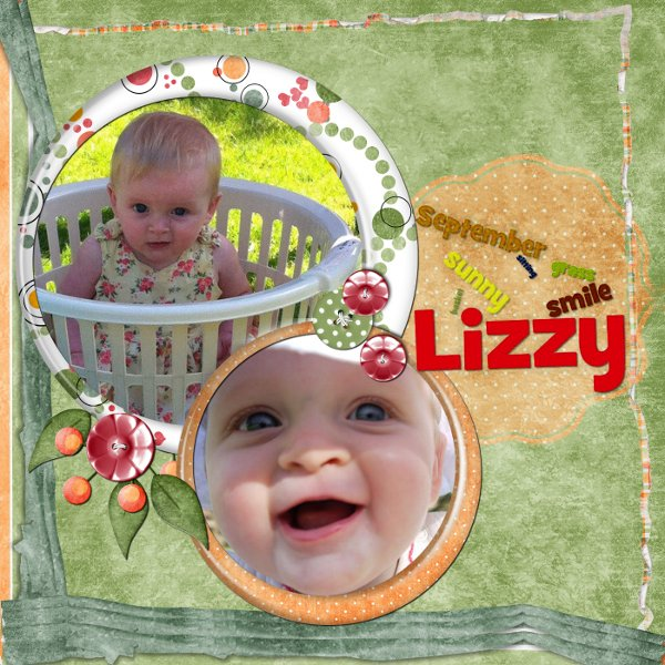 Lizzy in a Basket