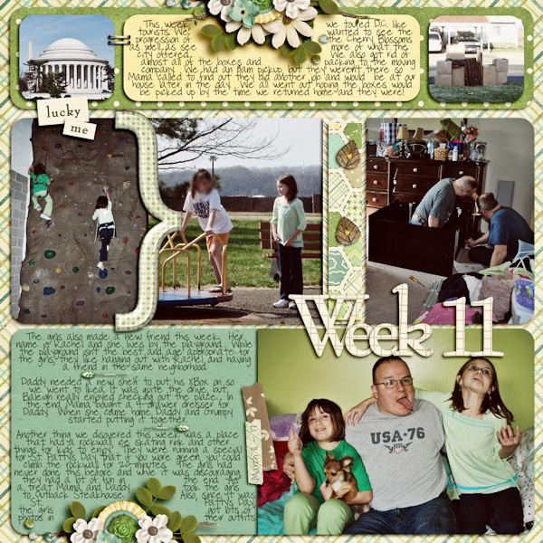 Week 11 (March 11 - 17)