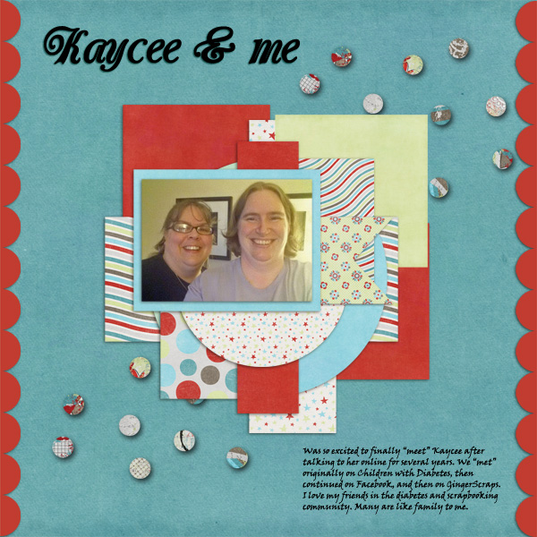 January 2013 Font Challenge - Kaycee and Me