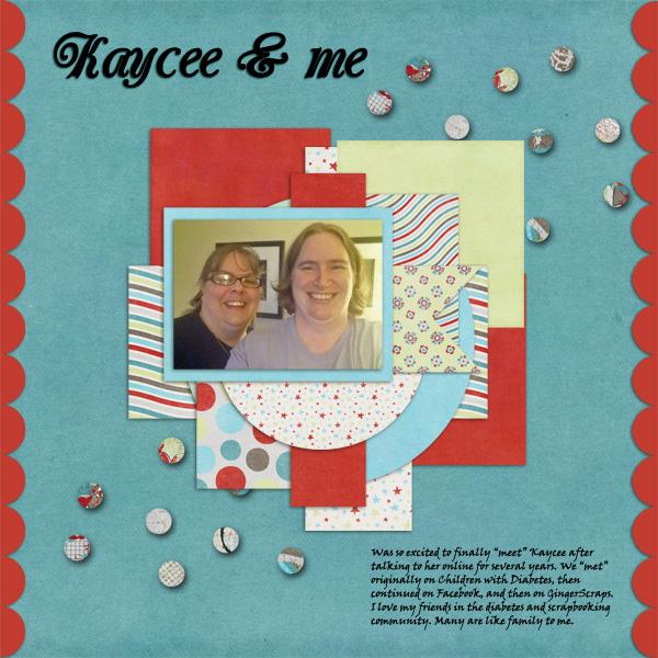 January 2013 Font Challenge - Kaycee and Me