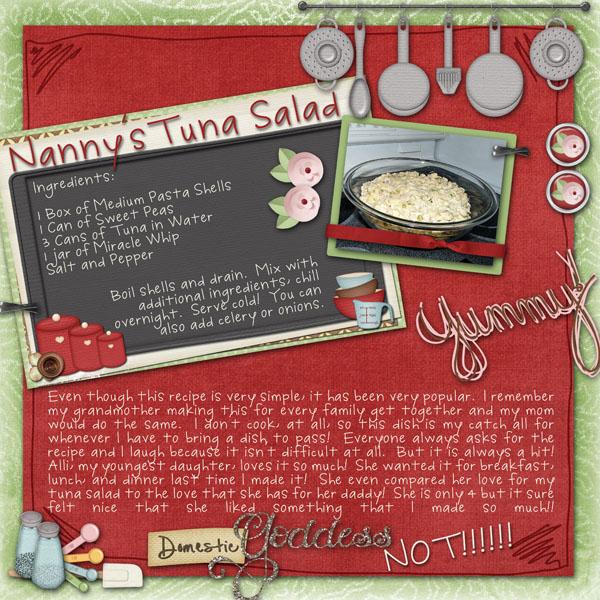 Nanny's Tuna Salad
