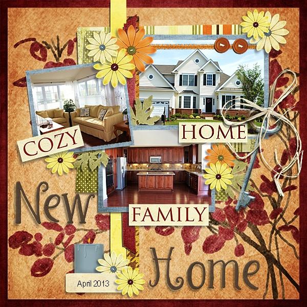 New Home April 2013