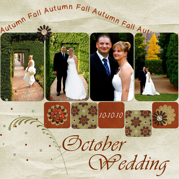 October Wedding