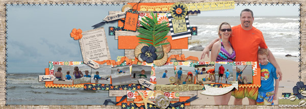 layout by Yabby using Beach Bum