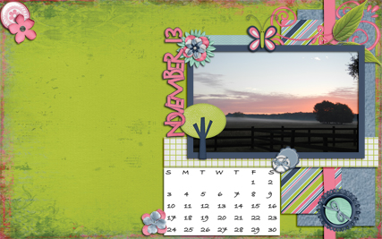 October 2013 Desktop Challenge