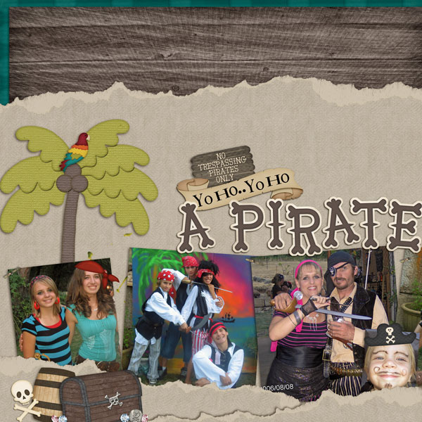Pirate Family Page 1