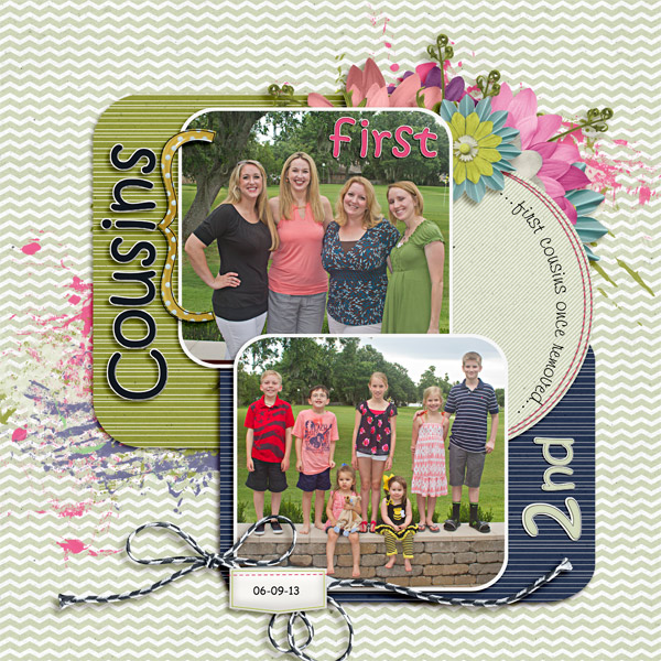 Reunion First and Second Cousins