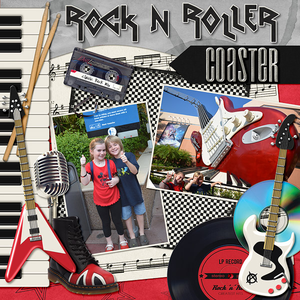 Disney's Rock N Roller Coaster
