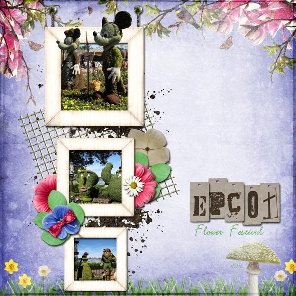 Epcot Flower Festival 2010