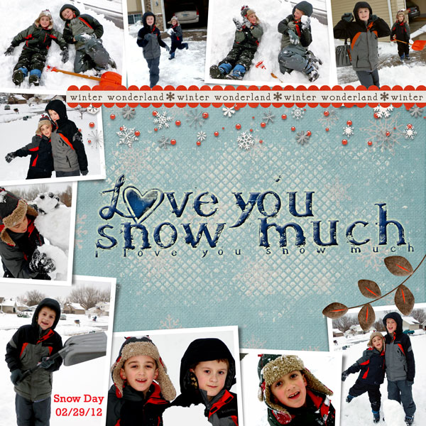 Love You Snow Much