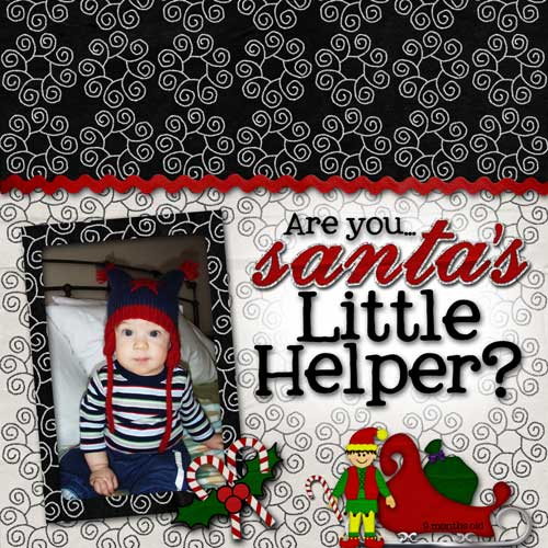 Are you...Santa's Little Helper