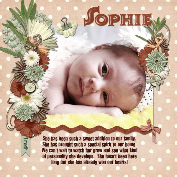 Sophie- 1Month
