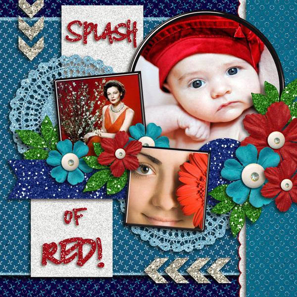 Splash Of Red