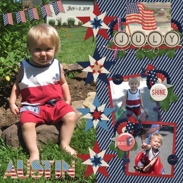 Austin -13 Months