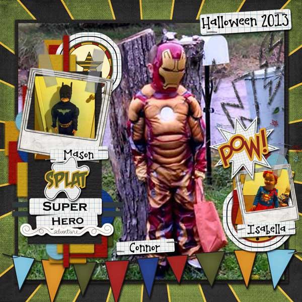 Superhero Halloween