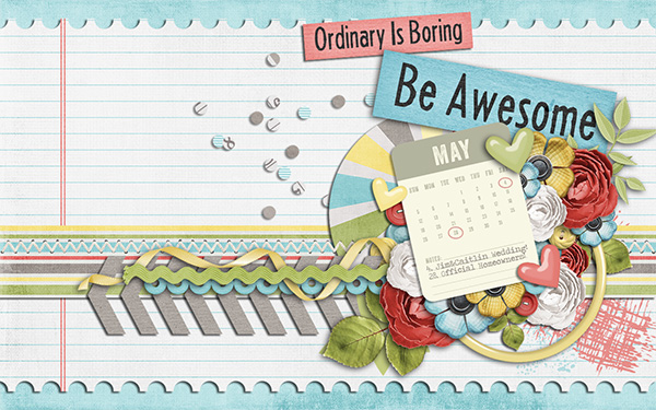 May 2013 (April Desktop Challenge)