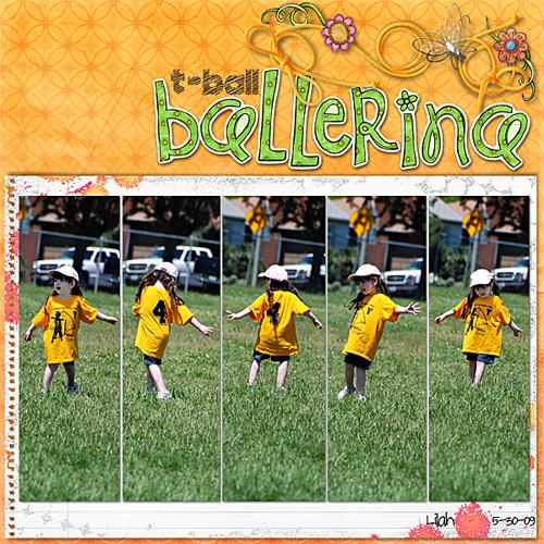 T-ball Ballerina