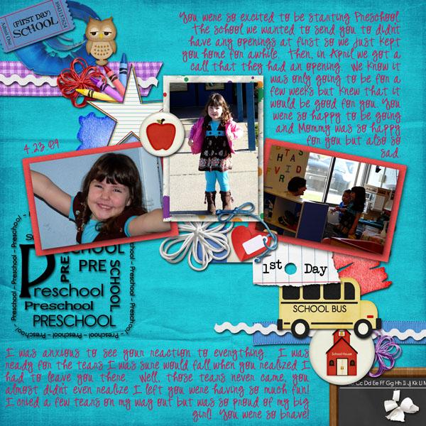 Tori - Preschool