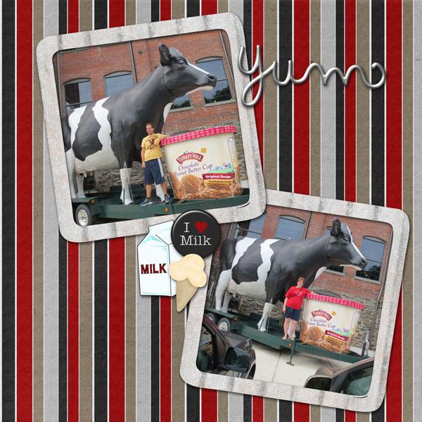 Turkey Hill Cow