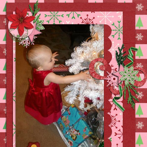 Braelynn - Christmas 2010