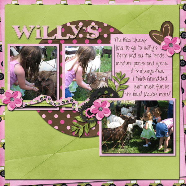 Willie's farm page 1