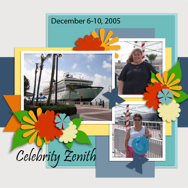 Celebrity Zenith Key West 2005 - June Color Challenge