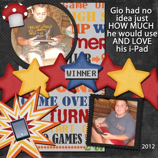 Gio's i-pad