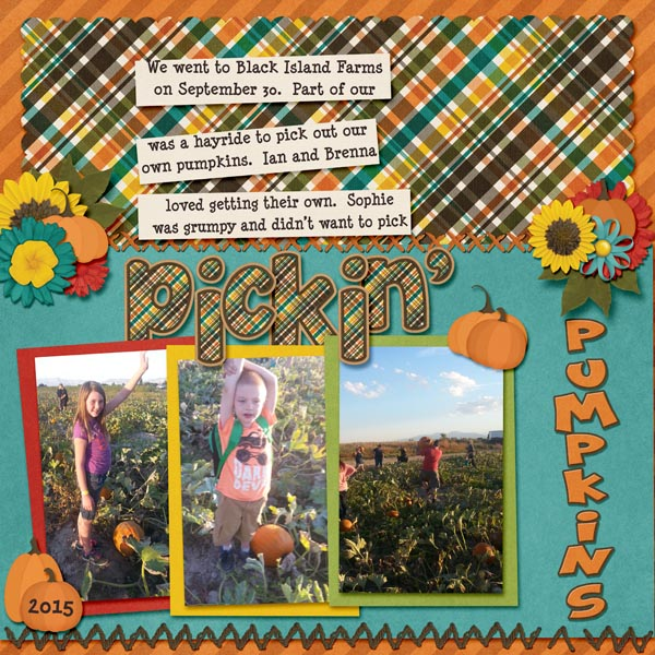 layout by Trinikay using Get Lost