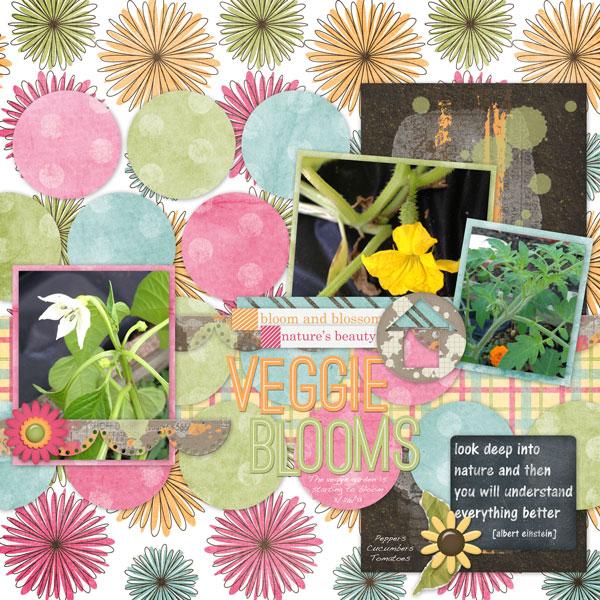 Veggie Blooms