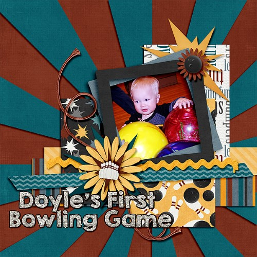 Doyle's First Bowling Game