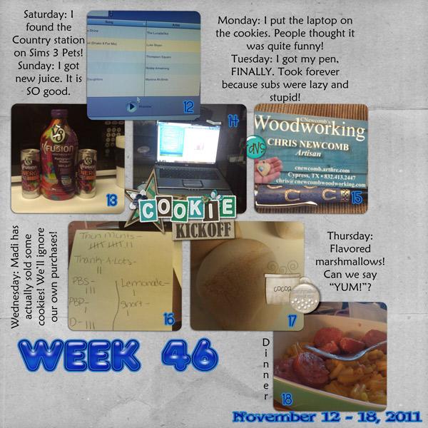 Week 46/52 {2011}