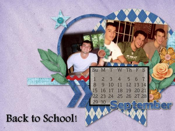 Back to School! (August 2013 Desktop)