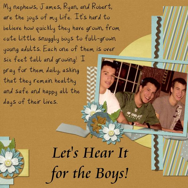 Let's Hear It for the Boys!