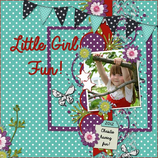 Litte Girl Fun!